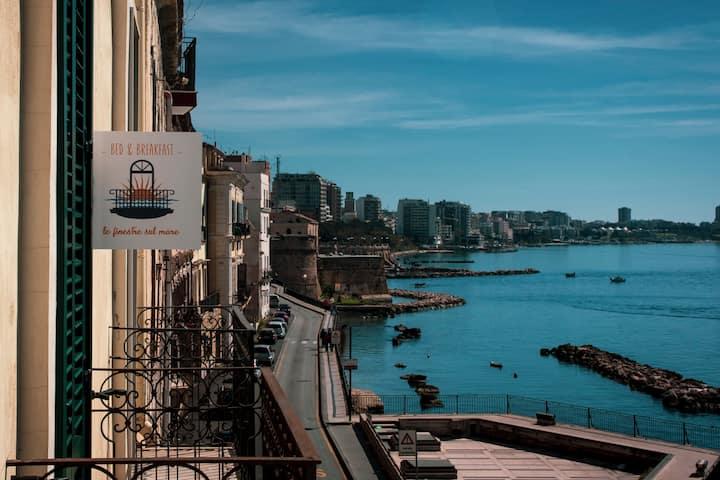 """Camera """"Il Castello"""" - B&B Le finestre sul mare"""