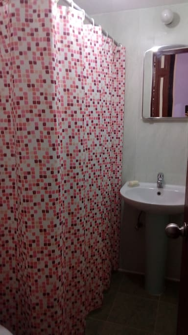Private bathroom in the first bedroom