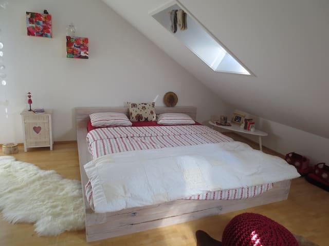 Cosy room near Rhinefalls & Zürich - Feuerthalen - Дом