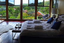 the suite with beautiful view into the Boquete Valley