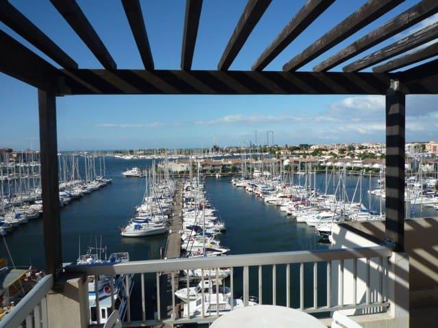 Your Dream, last floor with terrace - Agde - Byt