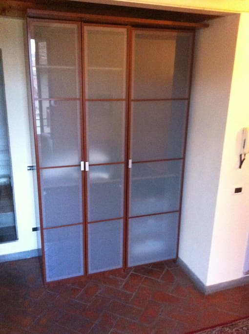 1st level closet