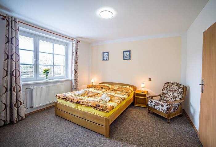 Rooms or apartments with fully kitchen to rent. - Český Krumlov - Bed & Breakfast