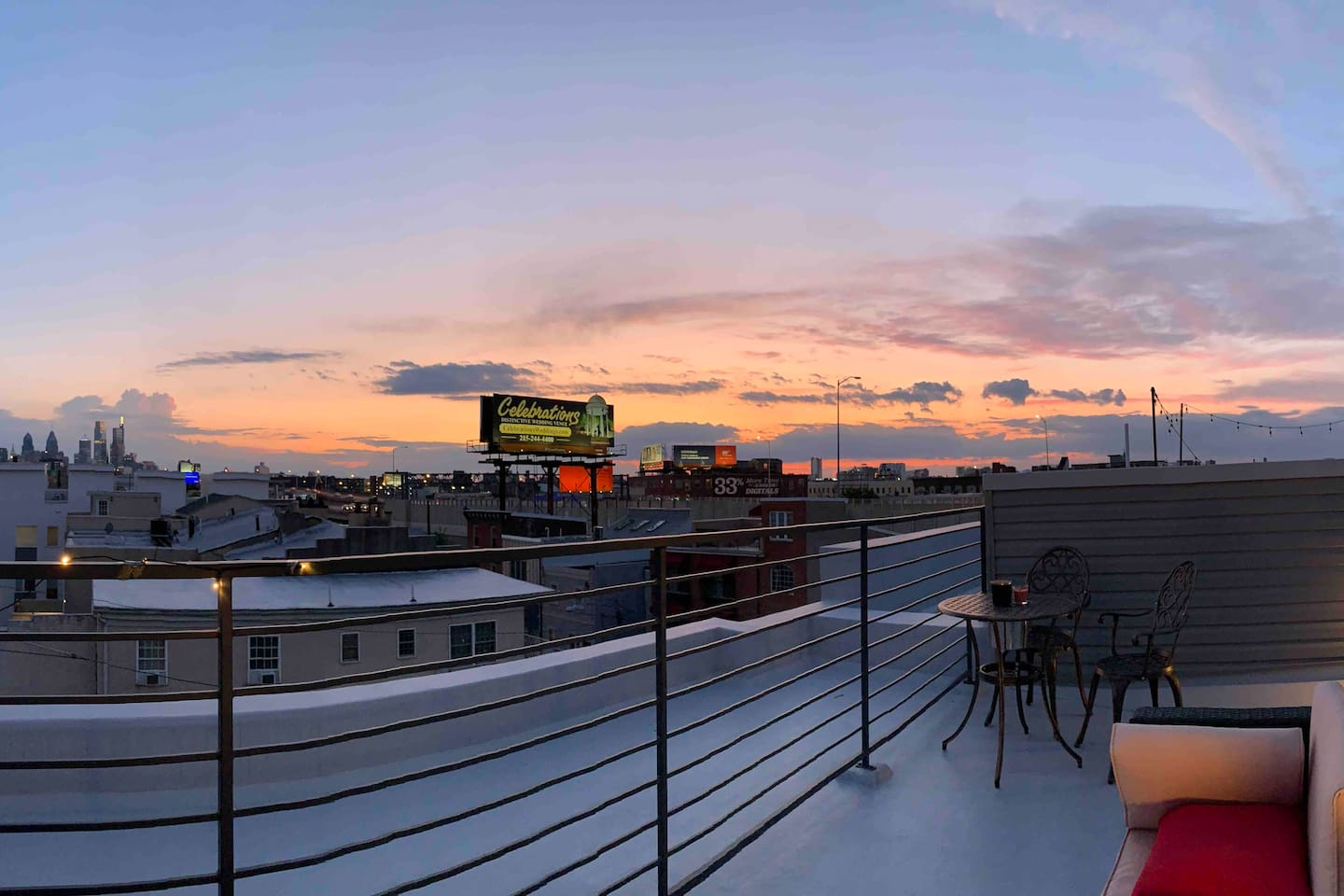 Fully furnished rooftop
