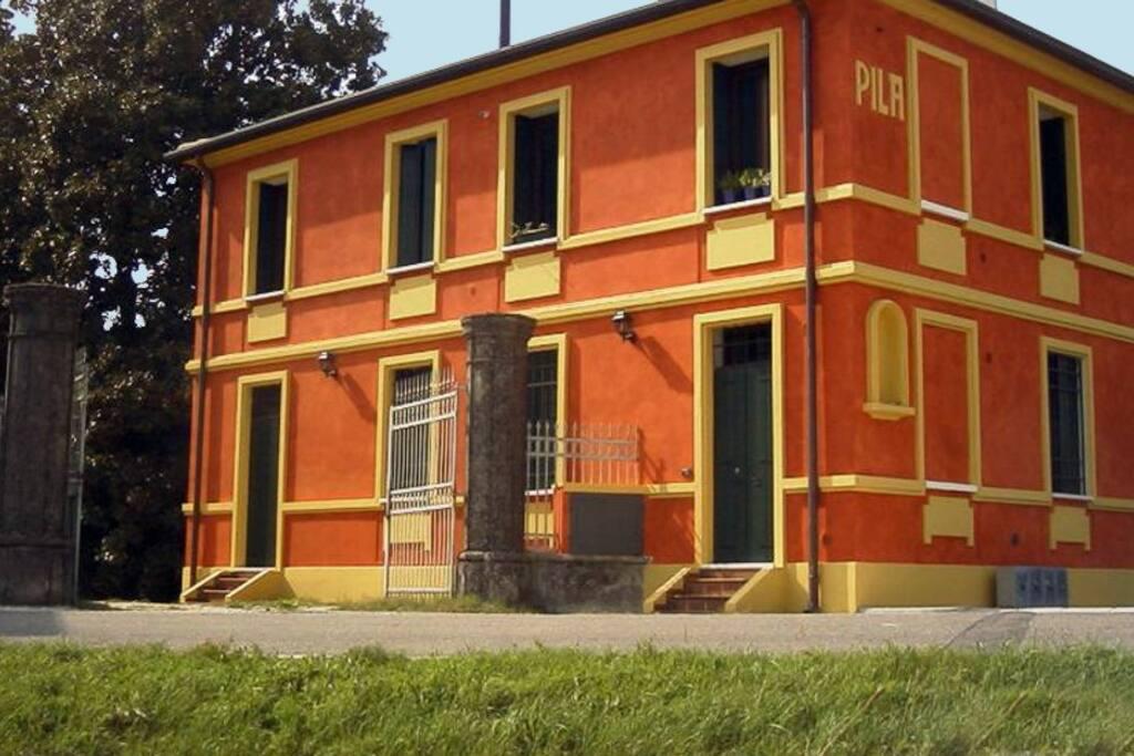 L'appartamento visto dall'esterno