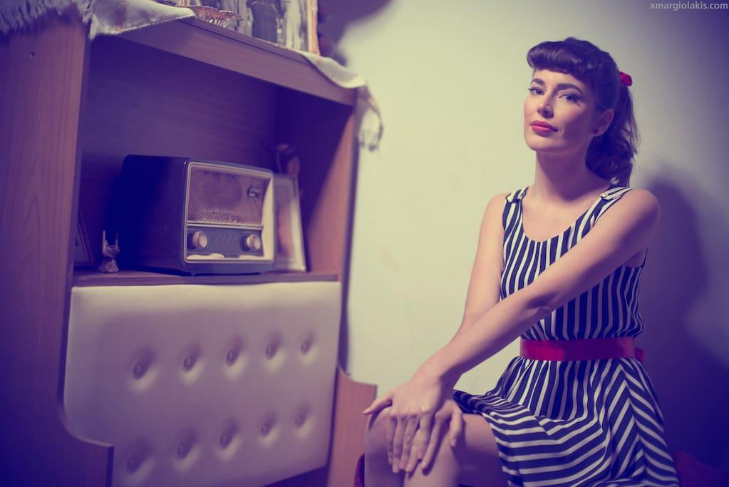 Kyra vintage house apartamentos en alquiler en la canea - Papeles pintados aki ...