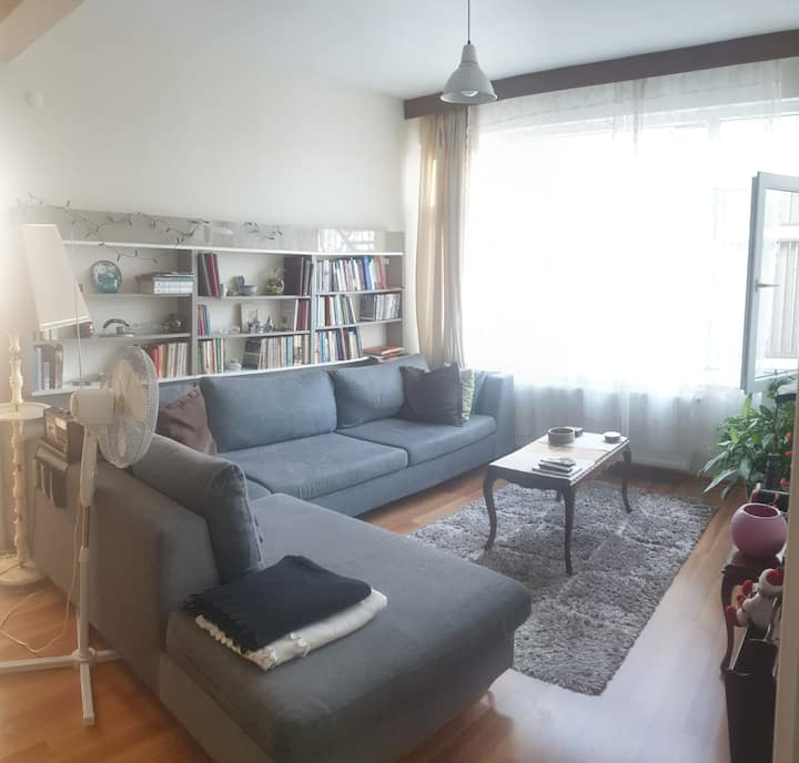 Comfortable Flat On The Kadıkoy Bagdat Street!