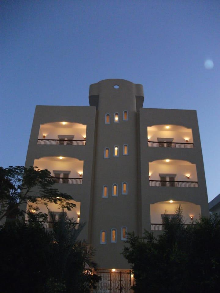 A nice accommodation near the beach