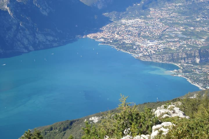 Riva on Gardalake :a dream