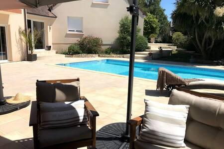 Villa d'exception avec piscine cœur Cotentin