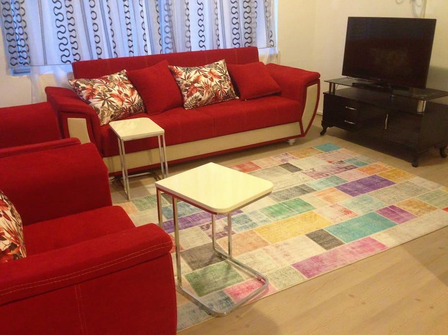 Rent  Rooms Apartment In Istanbul