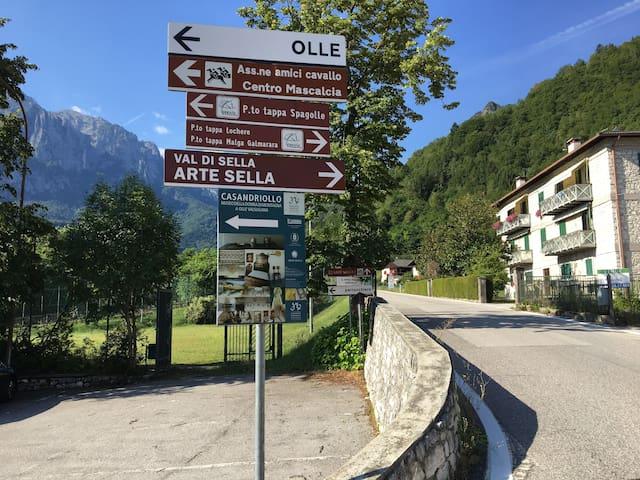 Case vacanze a Olle -app Ortigara
