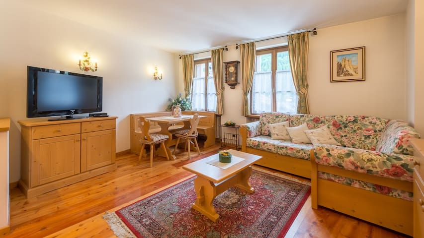 Cozy apartment near Cortina - San Vito di Cadore - Lägenhet
