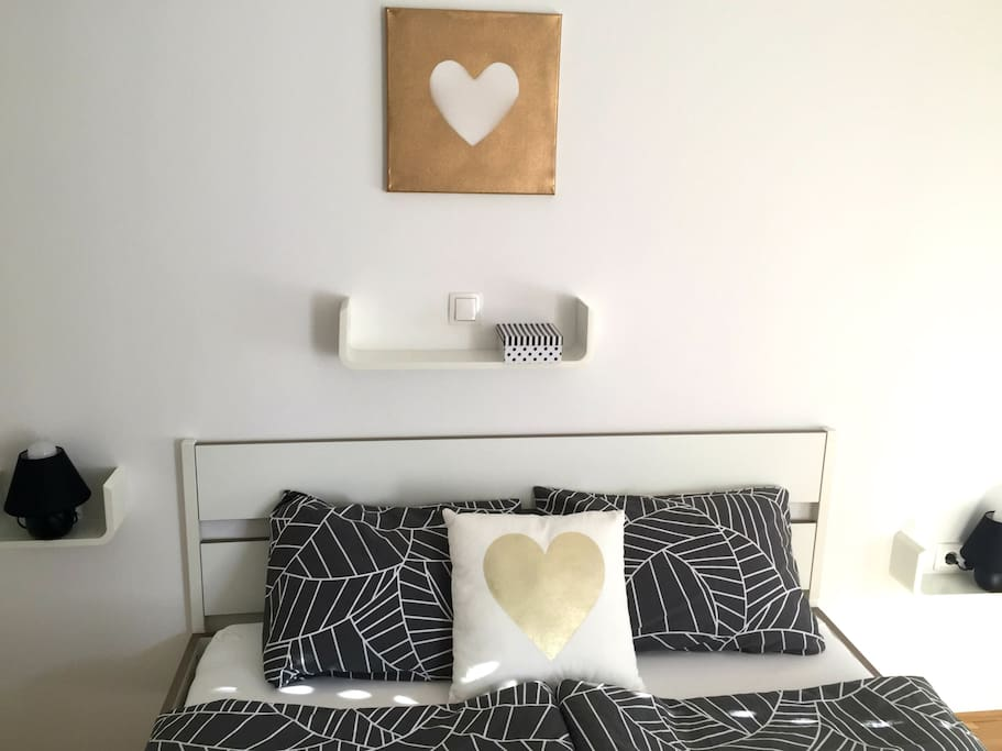 Chic&Cosy queen size bed (200x160 cm) for one or for two