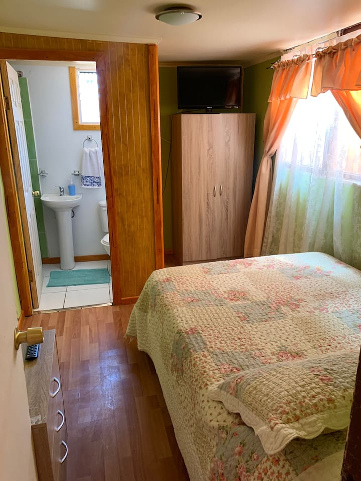 opción independiente, baño privado, centro caldera