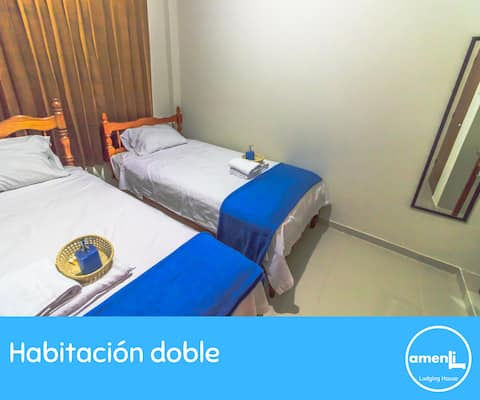 Habitación Doble 202 - Amenli Lodging House