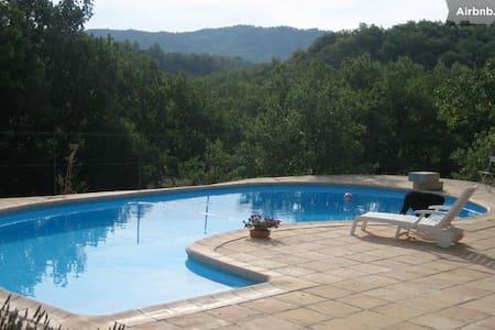 Superbe mas provençal avec piscine - Bras