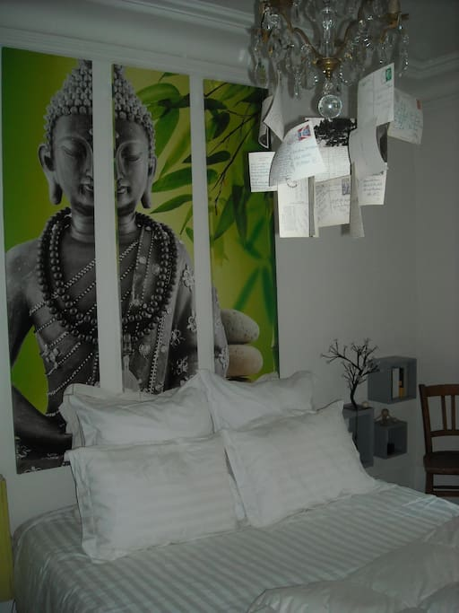la chambre relaxante et apaisante