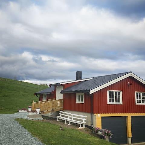 Nytteveksthuset på Berge Gård i Selbu