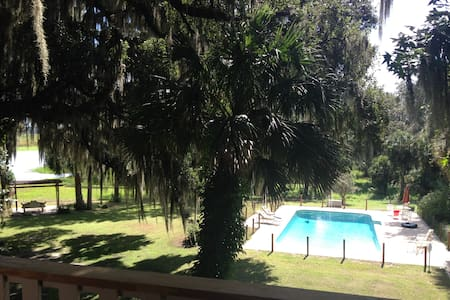 Gorgeous Private Country Estate on 15 acres. - Micanopy