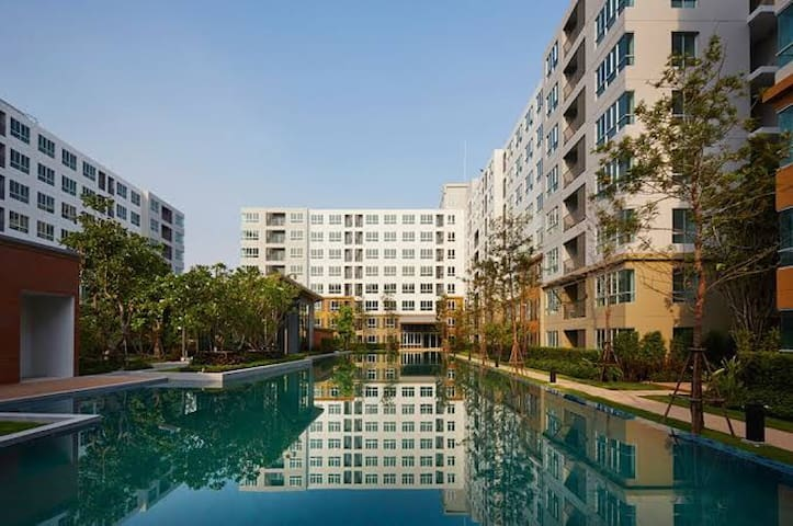 Chiangmai apartment in town/Wifi/Gym/Pool 清迈公寓月租