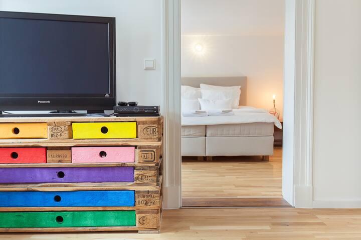 Einzigartige 3 Zimmer im Fachwerk - Hannover - Apartment