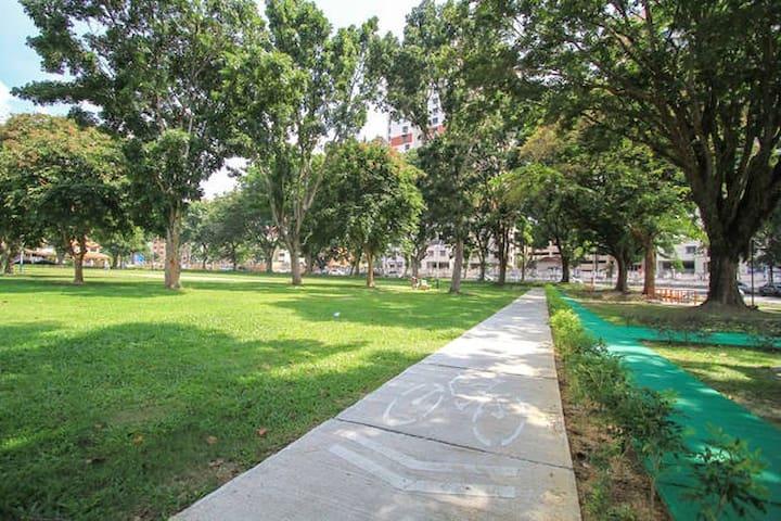 Taman Pekaka 2 single beds