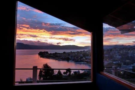 Chalet in San Pedro, lake Atitlan. - Chalet