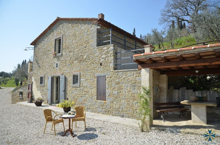 Fonte Comelia - Villa in the Hill - Cortona - House