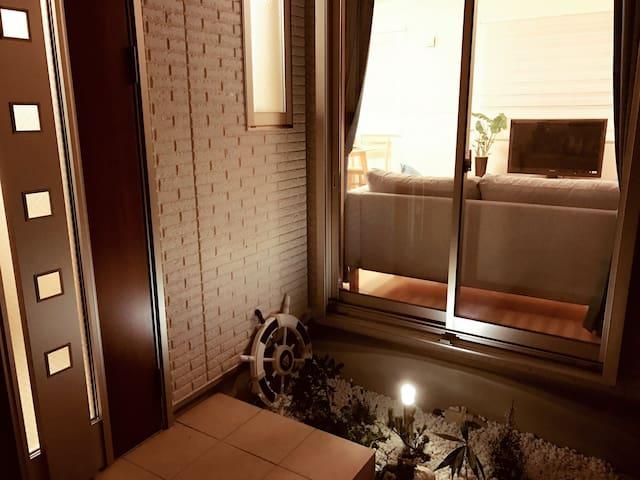 Brand new japanese house/100㎡/4 seperated bedrooms - Higashiyodogawa-ku, Ōsaka-shi - Huis