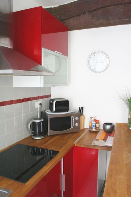 Piano lavoro cucina elettrodomestici