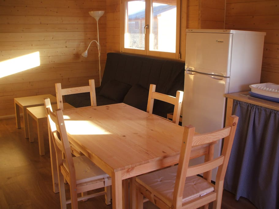 Bungalows de madera en la playa cabins for rent in el - Bungalow de madera ...