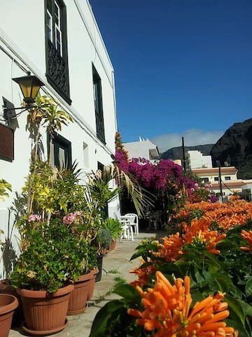 Lovely apartment in Valle Gran Rey  - La Calera - Daire
