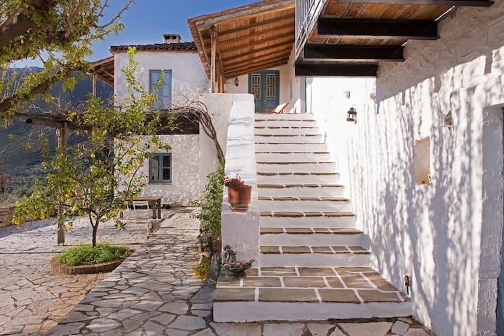 """""""Koutsoufi"""" traditional Greek home"""