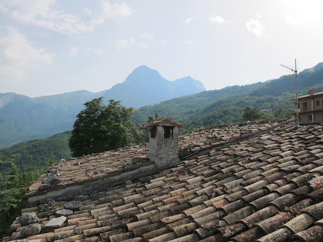 Casa vista Gran Sasso e Monti della Laga - Forca di Valle (Cerchiara) - Appartement