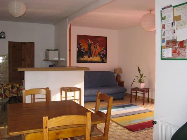 Grenoble T2 50 m2 groundfloor villa - Vaulnaveys-le-Bas - House
