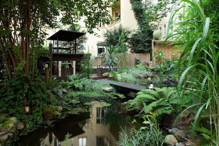 Beautiful flat with terrace&garden - Berlín - Dům