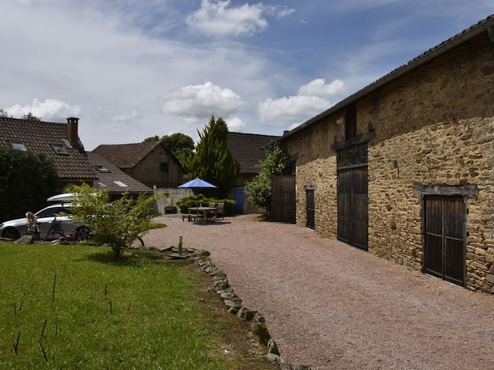 Idyllic farmhouse with large private pool