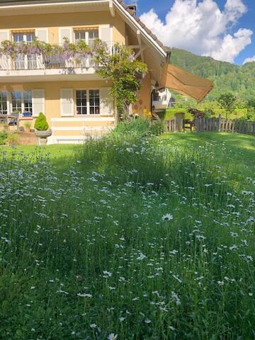 Studio indépendant dans villa en pleine verdure