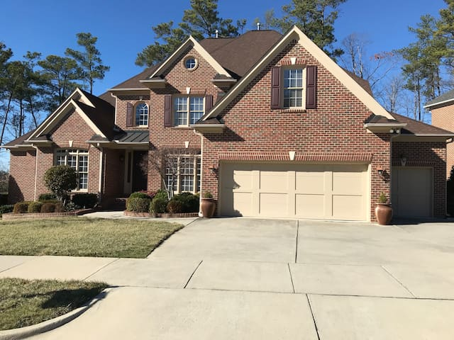 Cary 2 Bedroom Suite with Gym, Patio and Fire Pit!