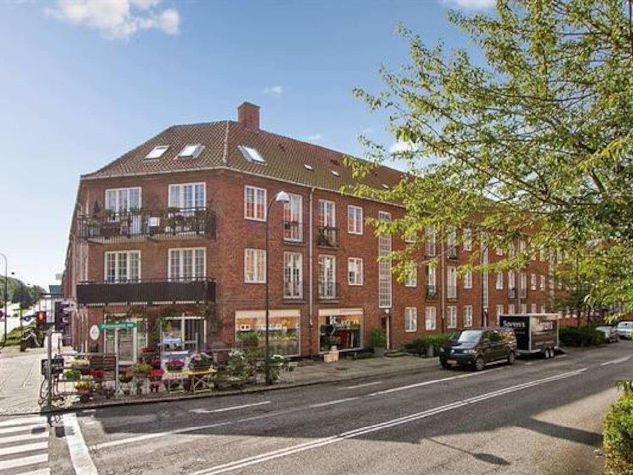 Great apartment, centrally located just 20 north of Copenhagen in Holte