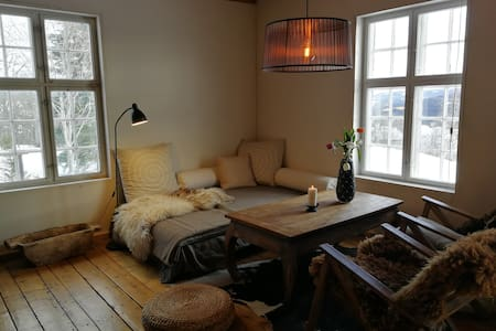 Cozy apartment in an old barn