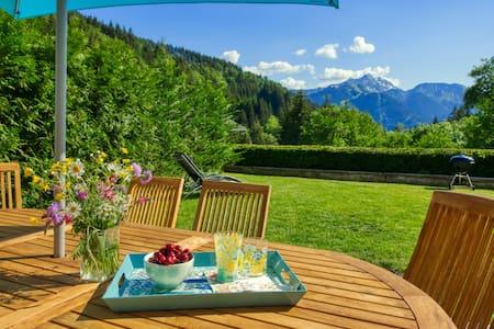 Luxurious house, gorgeous view, sauna, spa, beamer