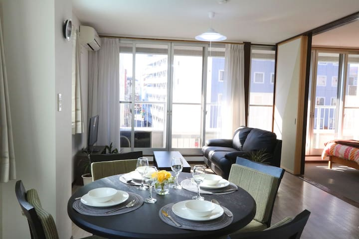 ★Family-friendly 4F condo ★5min walk to Nagano Sta