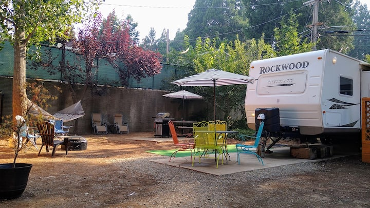 Private RV Glamping at its Finest