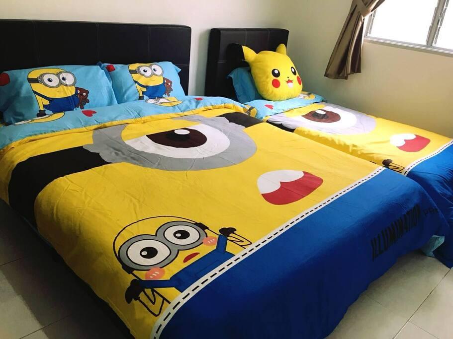 Room 2 ( Sleep 3)