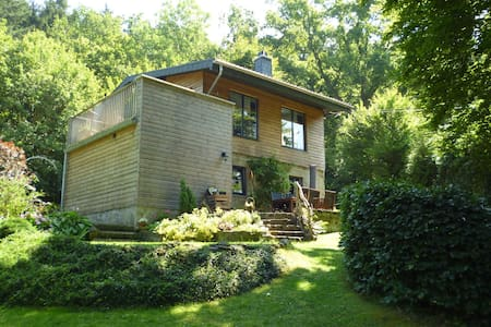 Spacious Chalet with Fenced Garden in Vieuxville