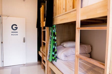 Hostel TangaTable【Private room with 4 beds】