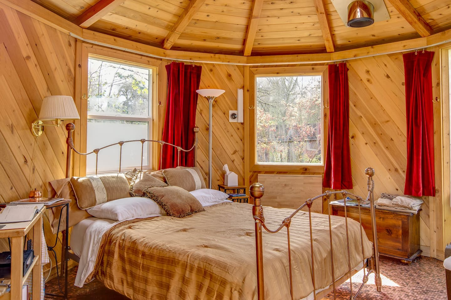 If you've never slept in a roundhouse, you've probably never truly slept.