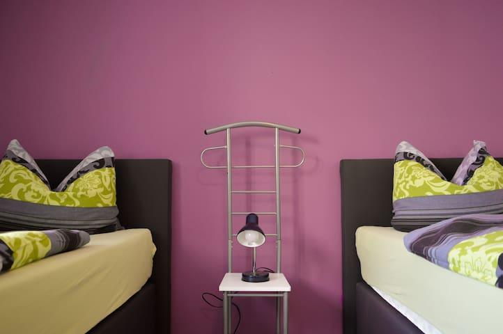 alpha-spot :: Kirchberg Zwei-Bett-Zimmer